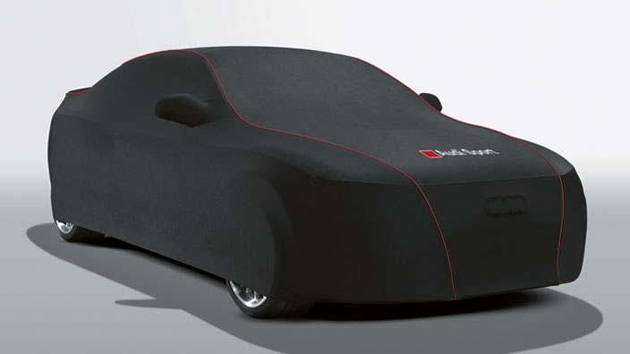Car cover (indoor), with Audi Sport logo