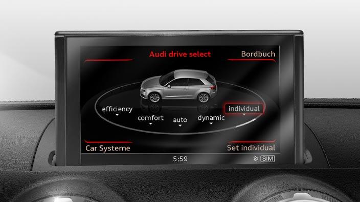 Retrofit Solution For Audi Drive Select 8v0063765a Gt Audi Genuine Accessories Vorsprung Durch
