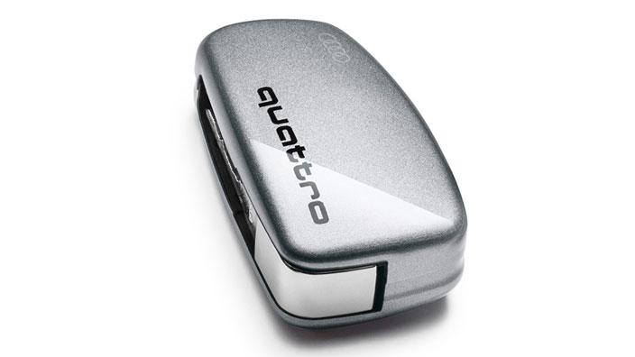 Key cover with quattro design 8v0071208a z7g gt audi