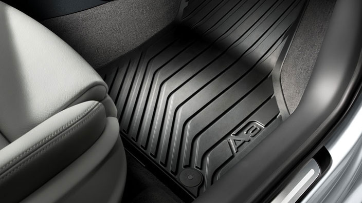 Rubber Floor Mats 8v1061501 041 Gt Audi Genuine Accessories