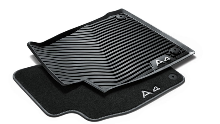 audi a4 rubber floor mats gurus floor. Black Bedroom Furniture Sets. Home Design Ideas
