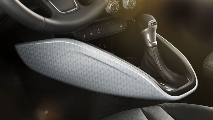 lifestyle kit pattern decorative trims for the centre console, white/grey