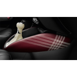 lifestyle kit union square decorative trims for the centre console, wine red with decor