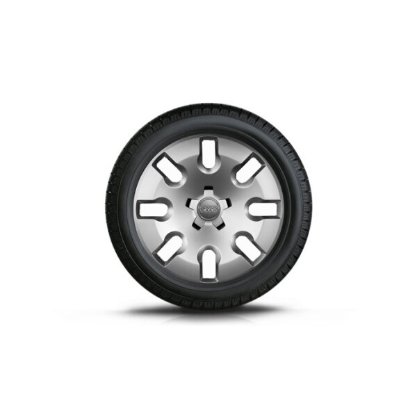 roue compl te hiver 185 60 r15 88h xl en tant que roue hiver en acier avec enjoliveur int gral. Black Bedroom Furniture Sets. Home Design Ideas