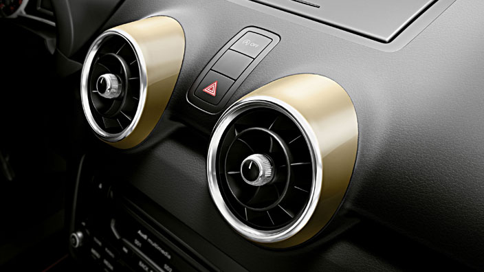 lifestyle kit gold decorative trims for the air vents