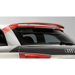 competition kit roof spoiler, for vehicles with the panoramic glass sunroof, begonia red